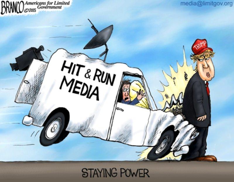 За что либеральные СМИ ненавидят Трампа