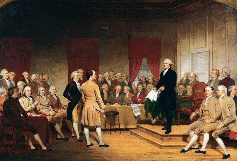the stance on slavery in the 1787 united states constitution The founding fathers and slavery: over slavery at the constitutional convention in 1787 form of government defined in the united states constitution.