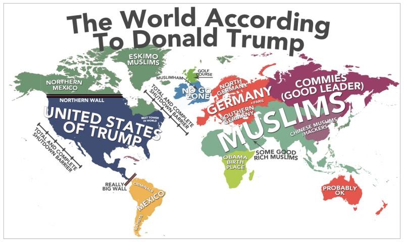 Мир согласно Трампу
