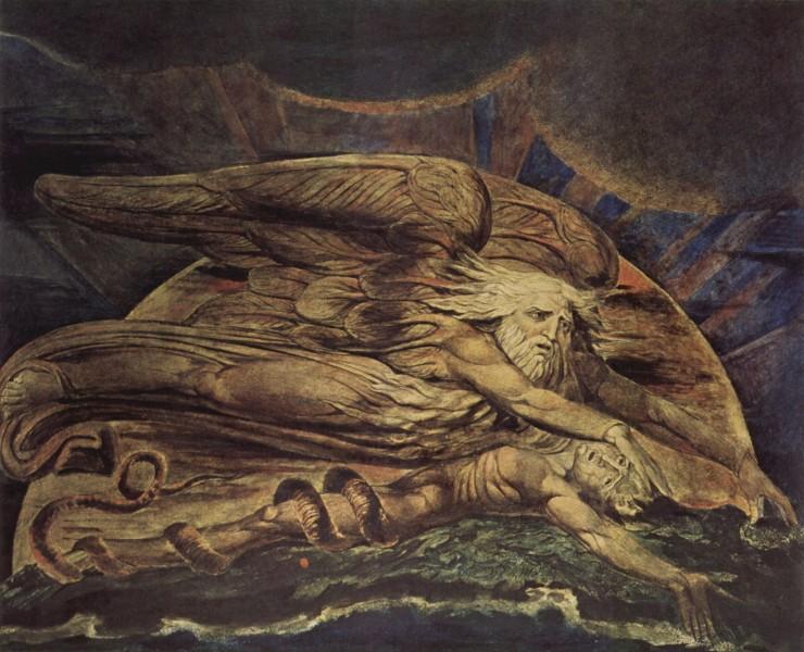 «…И Элохим сотворил Адама». Уильям Блейк, 1795.