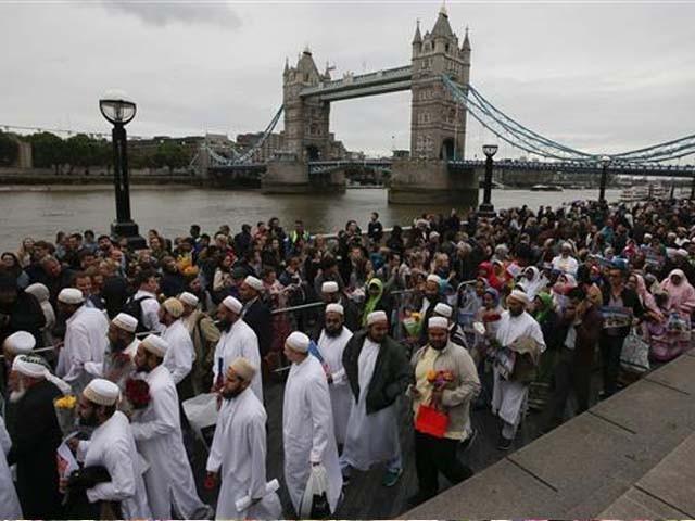 Исламизация Соединённого Королевства