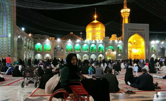 Imam-Reza-shrine-in-Mashhad-night