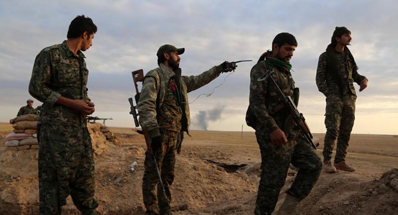 Курдские ополченцы освободили ещё 5 деревень