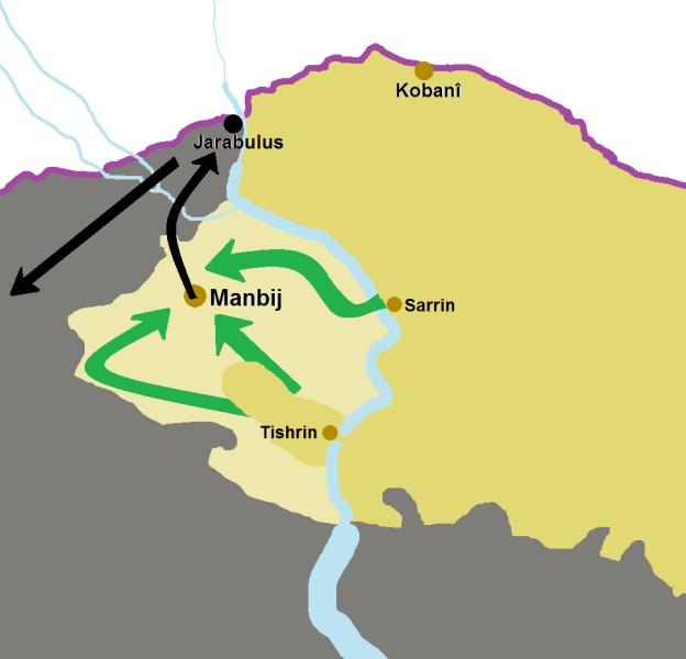 Операция по освобождению Манбиджа