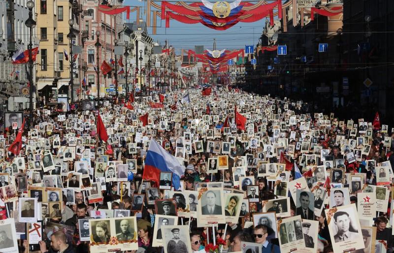 «Бессмертный Полк» как выражение проницательного исторического знания русских.