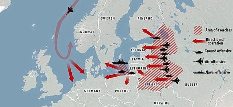Россия вот-вот вторгнется в какую-нибудь страну