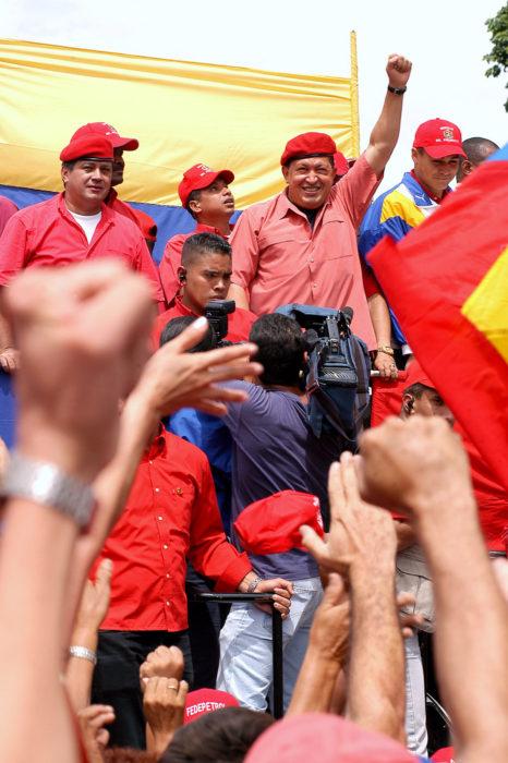 Уго Чавес в 2004 году.