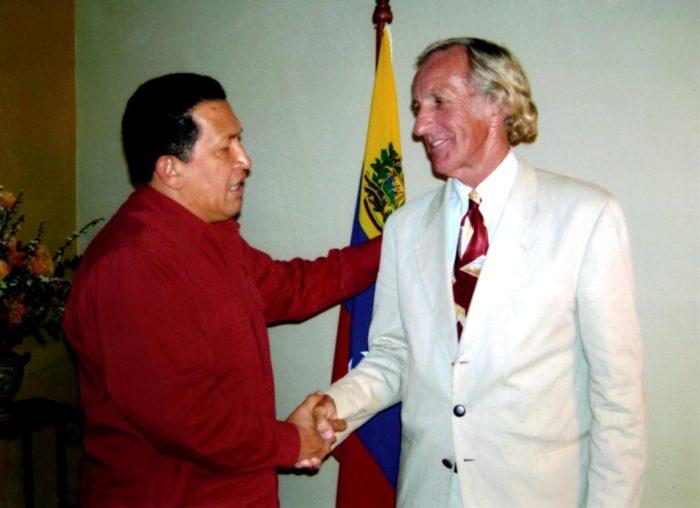 Чавес и Пилджер, 2007год.