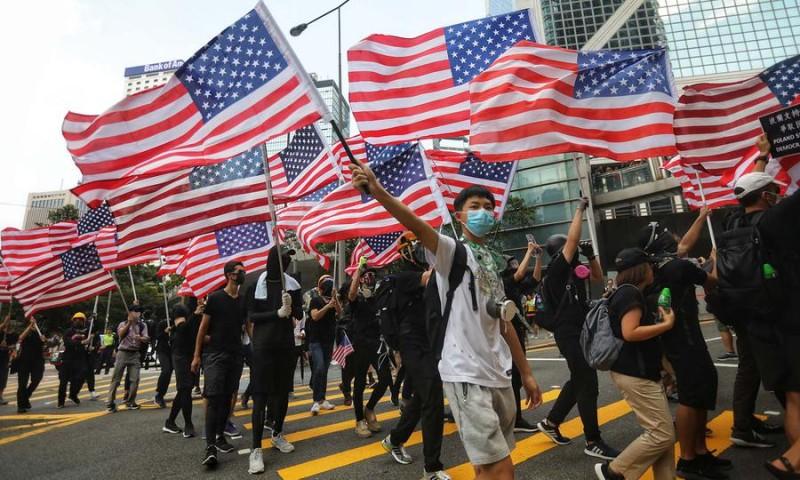 Отслеживая иностранное вмешательство в Гонконге