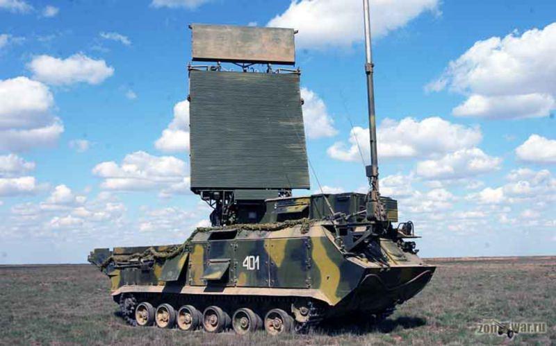 Радиолокационная станция обнаружения цели (СОЦ) 9С18М1-1 ЗРК Бук-М1-2