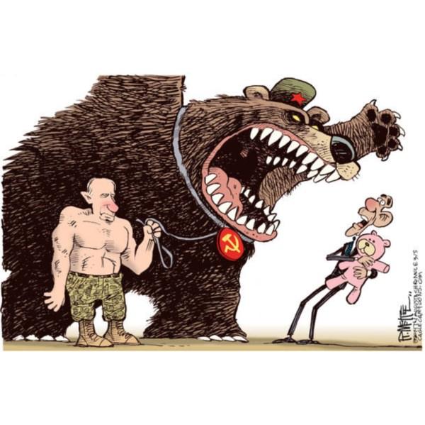 Западная плутократия отправляется охотиться на медведя