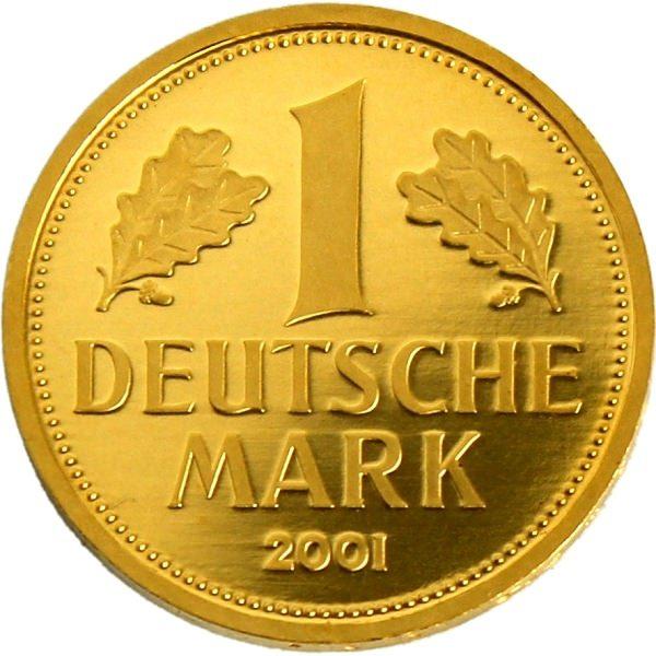 Золотая немецкая марка