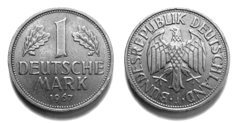 Серебряная немецкая марка (1951-1974)