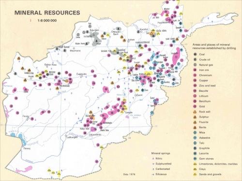 Минеральные ресурсы Афганистана