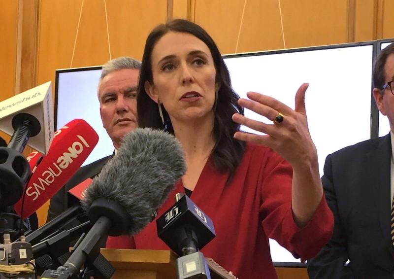 Премьер-министр Новой Зеландии Джасинда Ардерн.