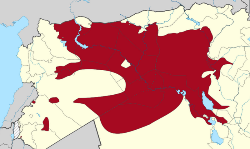 Daesh-area-of-operations