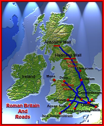 the occupation of britain by the romans A the english language was brought to britain by the anglo-saxons who did not land in britain until after the roman occupation english does have alot of latin influence, but not from the roman occupation of britain.