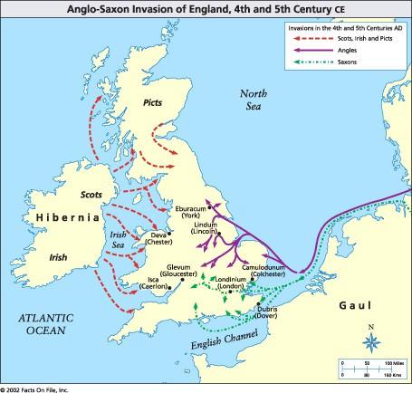 Карта Британии 4
