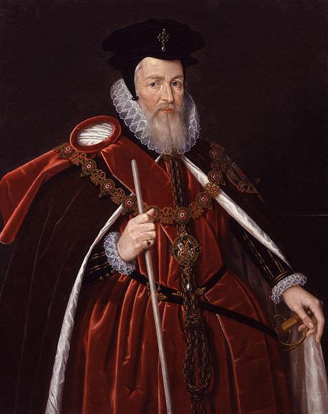 Уильям Сесил, 1-й барон Бёрли