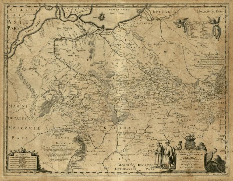 Общая карта пустынных земель