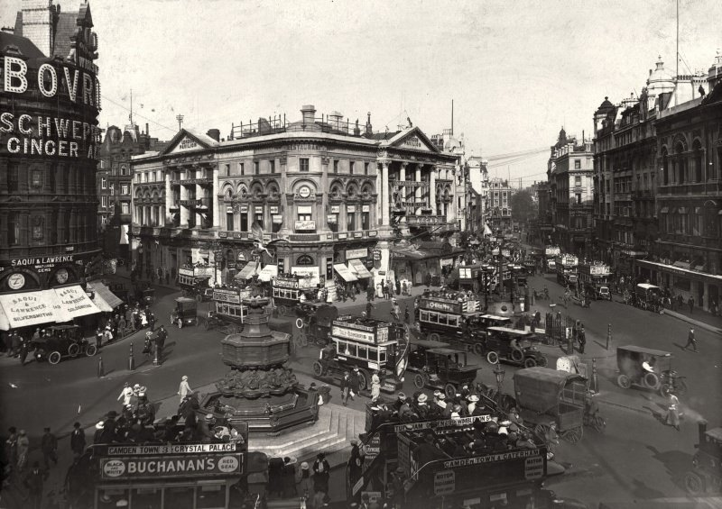 Пикадилли, 1910 год